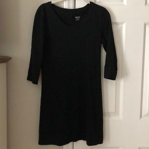 Black Small 3/4 length Sleeve Dress